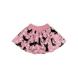 Юбка Черный кот Розовый