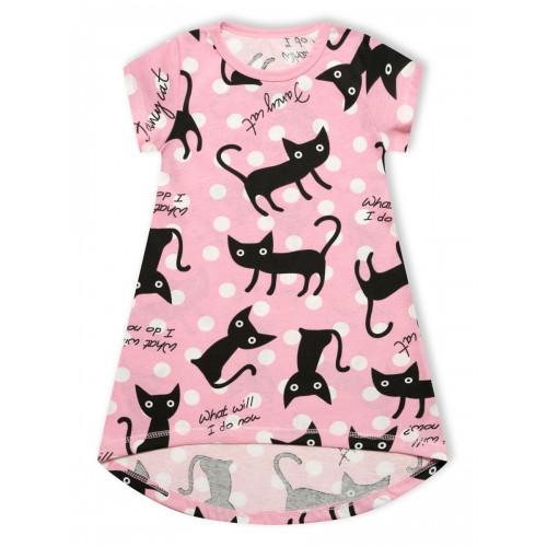 Платье Домашнее Черный кот