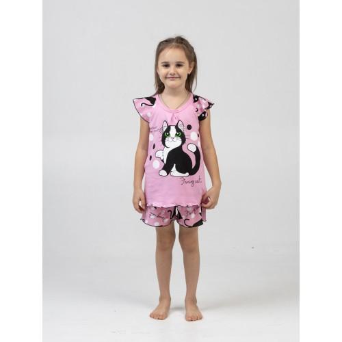 Пижама Fancy Cat Розовый